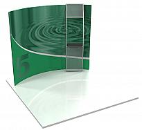 Formulate Horizontally Curved Backwalls