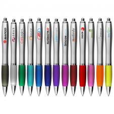 The Silver Grenada Click Pen