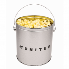 1 Gallon Popcorn Tin/Butter Popcorn