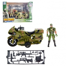 Kit Figurines Militaires - Moto