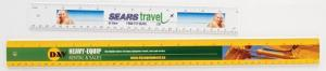 4 Colour Process Rulers - 18 - Durable Plastic - 4 Color Process Printed - 4/0