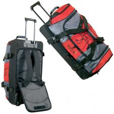 30 EXTRA LARGE DUFFLE BAG/KNAPSACK ON WHEELS