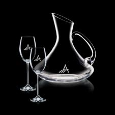 Bearden Carafe & 2 Wine
