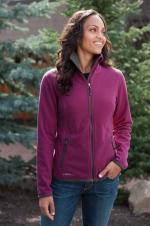 Eddie Bauer - EB223 - Ladies Full Zip Vertical Fleece Jacket