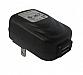 Cellulaire chargeurs - Chargeurs murale - 1 port USB - 5V - 2.4 A - Noir