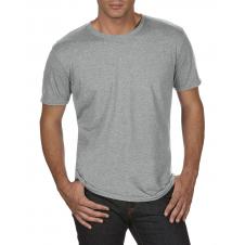 ANVIL - 6750 - T-Shirt - Triblend Crew Neck Tee - 50/25/25 - Gris Cendré - Large