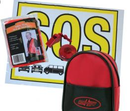 B-Pack Visibility-Signaling Kit - Red