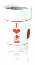 Foam Cups - Hot or Cold - 14 oz.