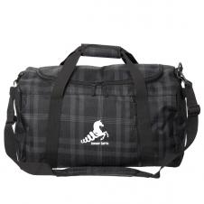 "20"" LARGE PLAID DUFFLE/SPORTS BAG"
