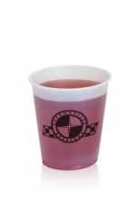 Frosted Plastic Cups - 5oz frosted, soft sided