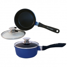 1.25 Quart Ceramic Sauce Pan W/Lid