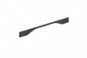 Contemporary Metal Pull - 9253 - 270 mm / 12 mm - Matte Black