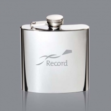 Duran Hip Flask - 6oz Stainless Steel