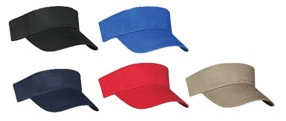 Brushed Cotton Visor (Blank)