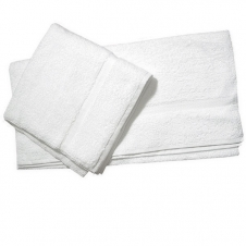 Premium Terry Bath Towels, White, CBT04