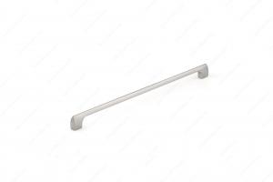Poignée contemporaine en métal - 814 - 320 mm - Nickel brossé