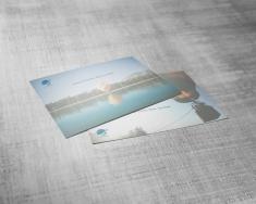 Cartes postales - 13pt - Lin (sans enduit)