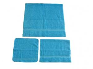 3 Piece Premium Terry Face & Hand Towel Set