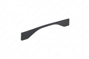 Contemporary Metal Pull - 9253 - 201 mm / 11 mm - Matte Black