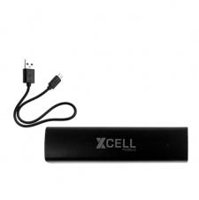 XCELL MOBILE - Chargeur externe portatif USB pour cellulaire - 2200 mAH - Noir