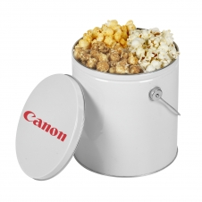 1 Gallon Popcorn Tin/Trio (Butter, Cheddar, Caramel)