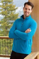 Eddie Bauer - EB224 - Manteau en micro molleton avec fermeture à glissère
