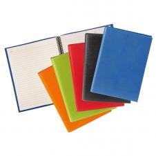 Colorplay Leather Cover & Journal with Refillable Spiral Notebook