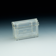 Business cards holder for outdoor use - Clear durable acrylic