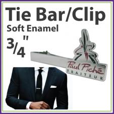 Soft Enamel Tie Bar