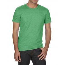 ANVIL - 6750 - T-Shirt - Triblend Crew Neck Tee - 50/25/25 - Vert Cendré - Large