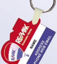 Flex PVC Key Chains