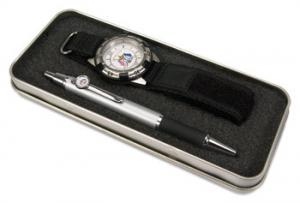 Pen and Watch Set - Full color insert and tin box