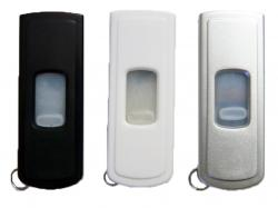 Custom Plastic Retractable USB Flash Drive W/ Split Ring