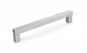 Poignée contemporaine en acier inoxydable - 604 - 192 mm - Acier inoxydable