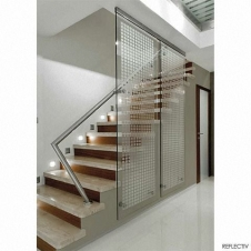 Window Films - Decorative Films - Frosted Films - INT 450 - Square of 45x45 mm