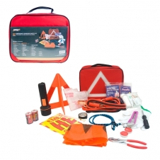HARVEY TOOLS - KIT DE SECURITE ROUTIERE D'URGENCE - ENSEMBLE DE 62 MORCEAUX