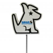 Foam Antenna Topper - Sirius Dog
