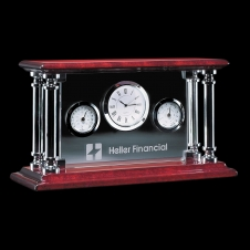 Carlson Clock w/ Thermometer & Humidistat