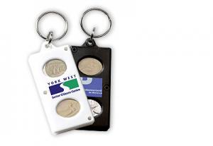 Coin key-ring