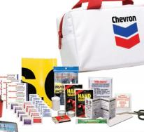 Compact 2 Designer Auto Safety Kit / First Aid Kit (45 Piece Set)