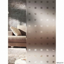 Window Films - Decorative Films - Frosted Films - INT 460 - With transparent square of 10x10 mm