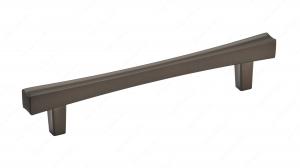 Poignée transitionnelle en métal - 7227 - 128 mm -  Bronze miel