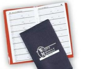 Suedene Telephone/ Address Book for Pocket & Purse