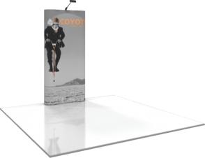 Kiosk PopUp - 1x3 - 45.5w x 87.5h