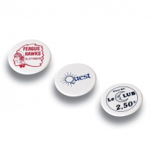 1 5/8 Round Plastic Trade Token