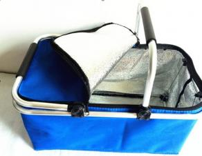 Foldable Insulated Cooler Basket
