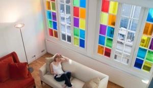 Window Films - Colored Transparent Films - Transparents - 60 026 - Fuchsia