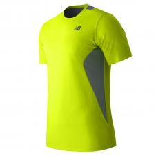 NEW BALANCE - MT53953 - T-Shirt - T-SHIRT TECHNIQUE 5 KM - 100% Polyester - Lumie?re - Large