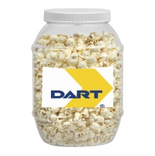 Large Plastic Jar- Butter Popcorn