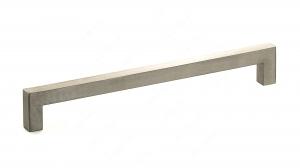 Poignée contemporaine en acier inoxydable - 604 - 256 mm - Acier inoxydable